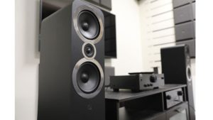 Assembled Home theatre system
